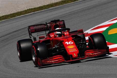 Leclerc conquistou a quarta posição no GP da Espanha