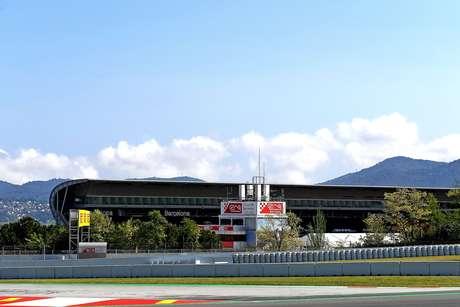 A previsão do tempo para o domingo em Barcelona é de pista seca