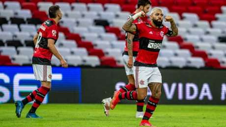 Gabigol marcou duas vezes e deu passe para gol de Michael (Foto: Marcelo Cortes/Flamengo)