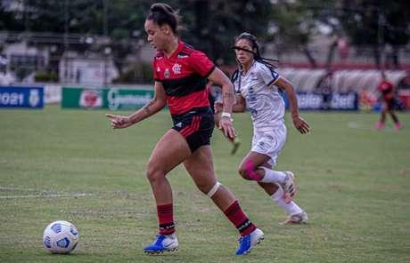 Rafa Barros fez dois gols na tarde deste domingo (Foto: Paula Reis/CRF)