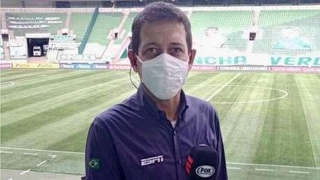 Repórter Fernando Caetano, ex-ESPN e Fox Sports, morre aos 50 anos em Marília.