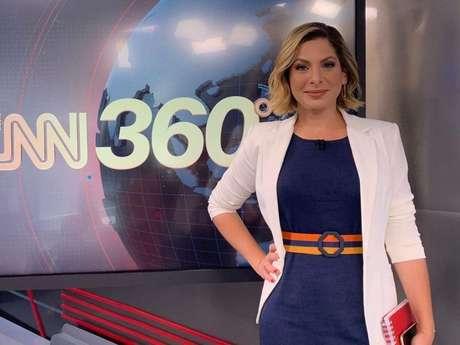 """Daniela Lima é apresentadora no programa """"CNN 360"""" (Reprodução/Instagram Daniela Lima)"""
