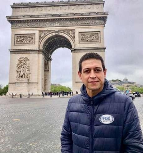 Fernando Caetano trabalhou em grandes coberturas nacionais e internacionais (Reprodução/Instagram)
