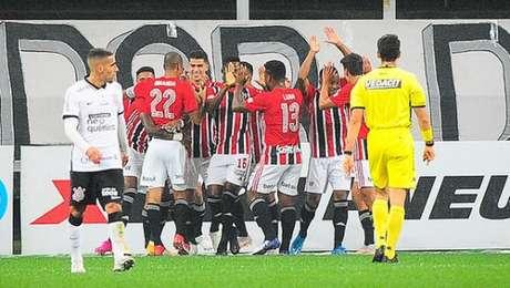 São Paulo é o atual líder do campeonato (Foto: Rodrigo Corsi/Paulistão)