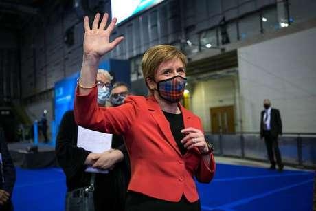 Nicola Sturgeon, a líder dos nacionalistas escoceses