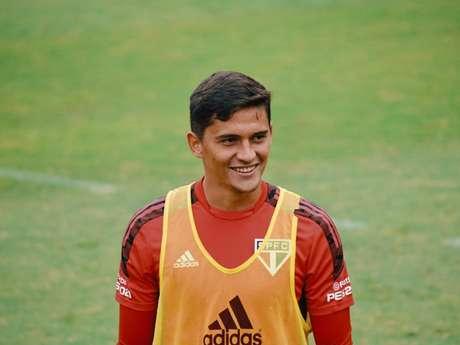 Pablo Maia comentou sobre sua experiência na equipe profissional do São Paulo (Foto: Divulgação)