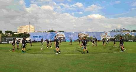 Titulares da vitória contra o Novorizontino não foram a campo nesa segunda-feira (10) (Foto: Agência Corinthians)
