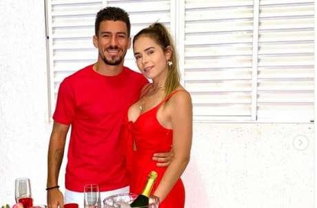 Marcinho e esposa (Foto: Reprodução/Instagram)