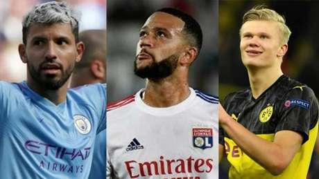 Três nomes estão na lista da equipe catalã (Montagem LANCE!)
