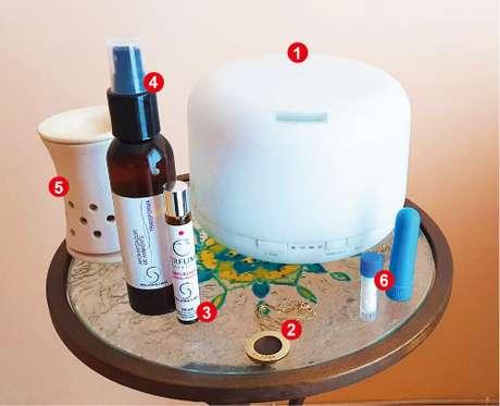 Umidificador (aromatizador de ar) e difusor de aromas ultrassônico