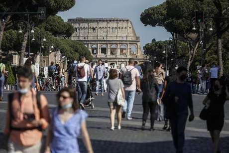 Itália vive um momento de queda constante nos números da pandemia