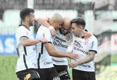 Timão venceu o Novorizontino na última rodada da primeira fase do Paulsita (Foto: Rodrigo Coca/Ag. Corinthians)