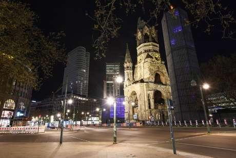 Vista de igreja em Berlin 8/5/2021 REUTERS/Annegret Hilse