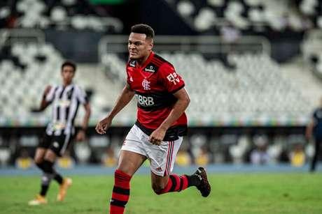 Rodrigo Muniz soma cinco gols na temporada atual (Foto: Marcelo Cortes/Flamengo)