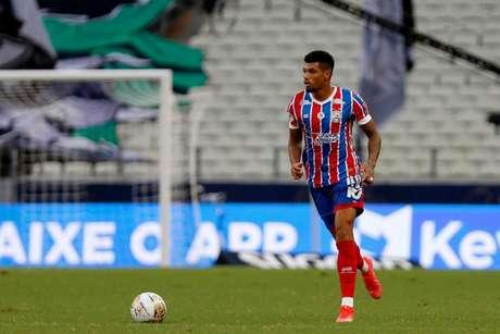 Defensor entrou na vaga de Luiz Otavio, suspenso (Felipe Oliveira/EC Bahia)