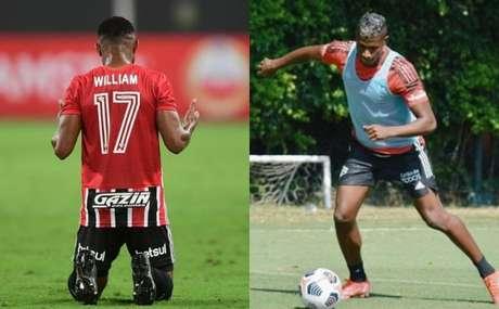 William já estreou, mas Orejuela ainda não atuou pelo Tricolor (Foto: Staff Images/CONMEBOL e Reprodução/Twitter)