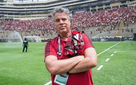 Gustavo Oliveira, vice-presidente de comunicação e marketing do Flamengo (Foto: Alexandre Vidal/CRF)