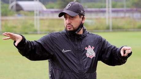Arthur Elias é multicampeão pelo time feminino do Corinthians (Foto: Divulgação/Ag. Corinthians)
