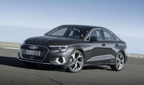Novo Audi A3 Sedan.