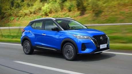 Nissan Kicks custa a partir de R$ 92.990 na versão Sense.
