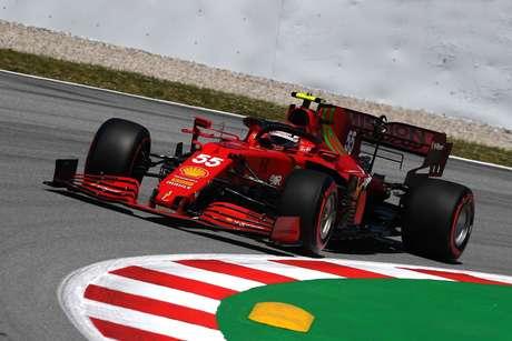 Carlos Sainz acabou em sétimo no GP da Espanha
