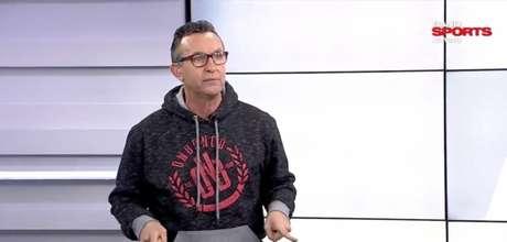 Neto é apresentador do programa 'Baita Amigos', no BandSports (Reprodução/BandSports)