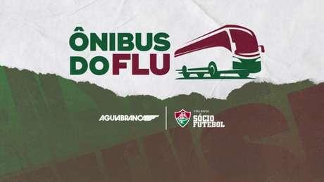 Em parceria com a Águia Branca, Fluminense lança campanha para customizar ônibus da equipe (Divulgação)