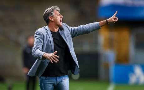 Renato Gaúcho, aos 58 anos, nunca escondeu vontade de treinar a Seleção (Lucas Uebel/Grêmio)