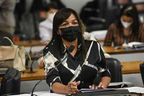 Senadora Eliziane Gama (Cidadania-MA) na CPI da Covid