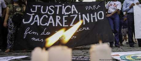 Protesto pede Justiça para as vítimas do Jacarezinho