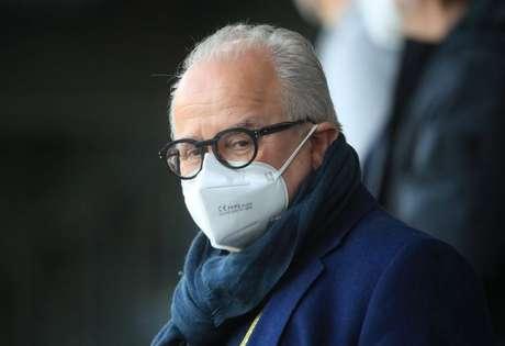 Presidente da Associação Alemã de Futebol (DFB), Fritz Keller  24/3/2021  REUTERS/Wolfgang Rattay