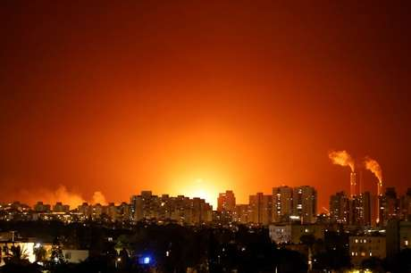 Conflito entre Israel e palestinos perto de Ashkelon, Israel  11/5/2021  REUTERS/Amir Cohen
