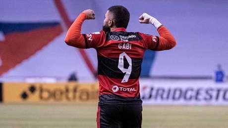 Mercado Livre já estampa marca no uniforme (Foto: Alexandre Vidal/Flamengo)