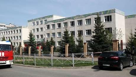 Escola número 175 em Kazan, onde o ataque aconteceu
