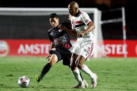 São Paulo venceu o Rentistas por 2 a 0 no Morumbi nesta Libertadores (Foto: Sebastiao Moreira / POOL / AFP)