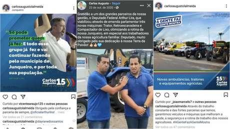 Maquinário adquirido com recursos atribuídos ao presidente da Câmara, Arthur Lira, foi anunciado em Junqueiro pelo prefeito, mas depois devolvido