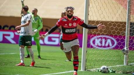 Gabigol já é um dos ídolos do Flamengo (Foto: Alexandre Vidal/Flamengo)