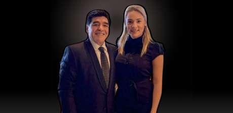 Maradona e Rocío Oliva: o namoro tumultuado, com acusações de roubo e agressões, ainda rende polêmica após a morte do ex-jogador