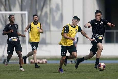 Treino do Botafogo desta quarta-feira (Foto: Vítor Silva/Botafogo)