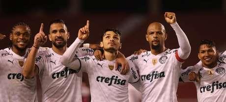 100%, Palmeiras luta pela melhor campanha na fase de grupos Libertadores (Foto: Cesar Greco)