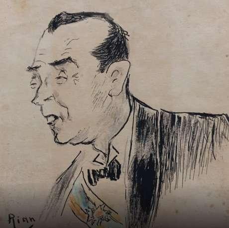 Caricatura de Juscelino Kubitscheck