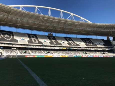 Estádio Nilton Santos, palco do primeiro jogo da final, estará sem público (Foto: Divulgação)
