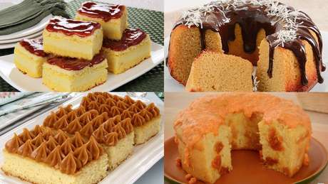 Receitas diferentes de bolo de fubá