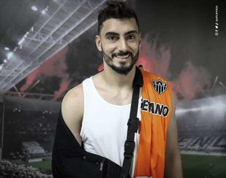 Rafael terá uma longa recuperação e perderá grande parte da temporada 2021-(Divulgação/Atlético-MG)