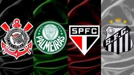 Clubes de grande projeção de São Paulo terminaram 2020 com déficit (Montagem LANCE!)