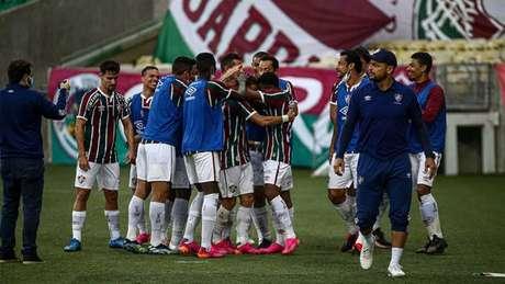 Tricolor é líder do Grupo D da Libertadores Foto: Lucas Merçon/Fluminense