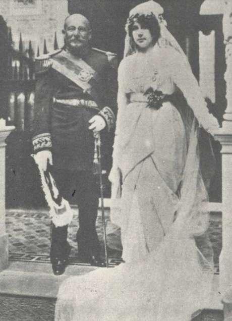 Teffé e Fonseca casaram-se em dezembro de 1913
