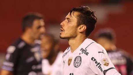 Veiga mais uma vez foi decisivo para o Verdão (Foto: Cesar Greco/Palmeiras)