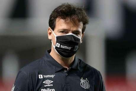Diniz fez sua estreia pelo Santos (Reprodução: Twitter Libertadores)