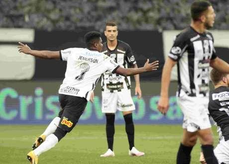 Jemerson foi destaque na classificação do Corinthians á semifinal do Paulsitão (Foto: Rodrigo Coca/Ag.Corinthians)